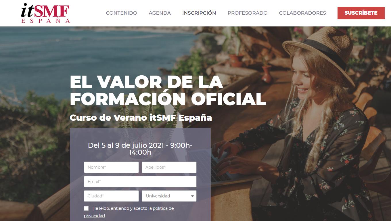 GTA colaborador en la edición 2021 del Curso de Verano organizado por itSMF España.